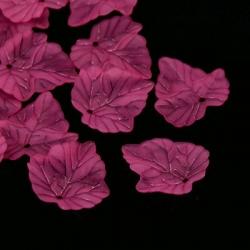 10 stk Transparent gefrostetes Ahornbl..