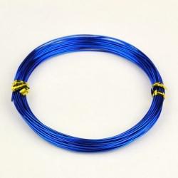 Aluminiumdraht, blau, 1.0 mm, 10 m / R..