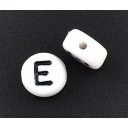 10 stk Acrylbuchstabe E, 7mm, bohrung ..