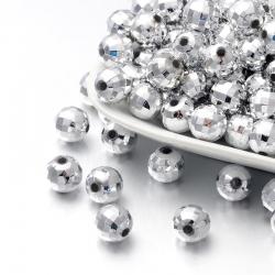 10 stk Acryl-Perlen, 10 mm, Loch: 1.5 mm