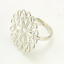 Filigraner Ring, Messing, einstellbar,..