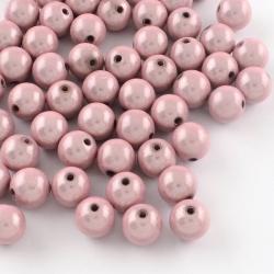 Miracle Beads, rosa, 10 mm, Bohrung: 2..