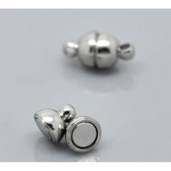 Magnetverschluss,  Platinfarbe 12mm x ..