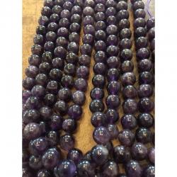 Amethyst Perlen stränge 10mm, bohrung ..