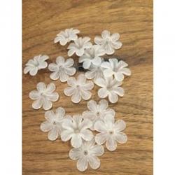 Transparente Acrylblumen-Perle gefrost..