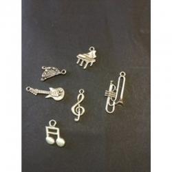 Set Musikinstrumente 17-35x10-16x1-2.5mm